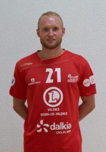 Sebastien EDGAR neie Spiller bei den HBK Hären.
