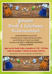 Groussen Dirndl & Lederhosen Occasiounsmaart