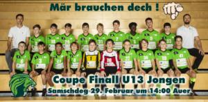 Finall Coupe de Luxembourg U13 Jongen