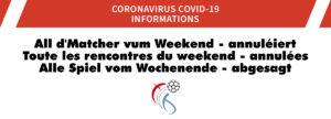 Sämtlech Matcher vum Weekend (13. bis 15. Mäerz) am Handball ofgesot