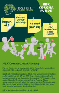 HBK Corona Crowd Funding 💰